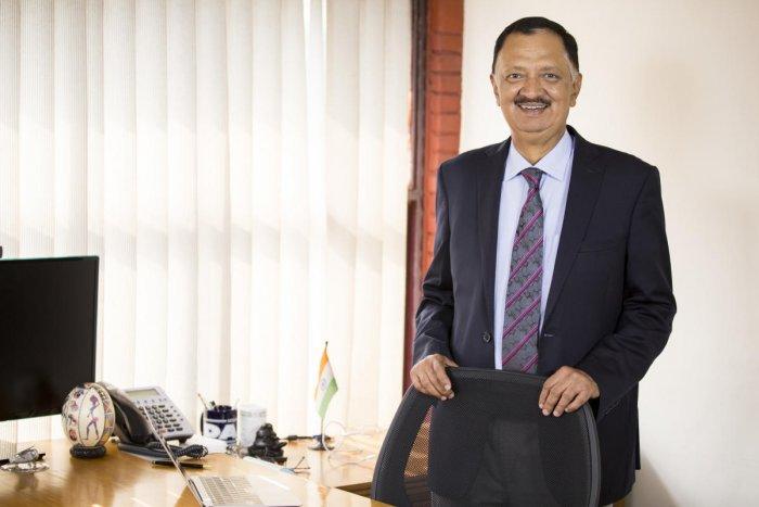Diwakar Nigam, Chairman and Managing Director, Newgen Software Technologies.