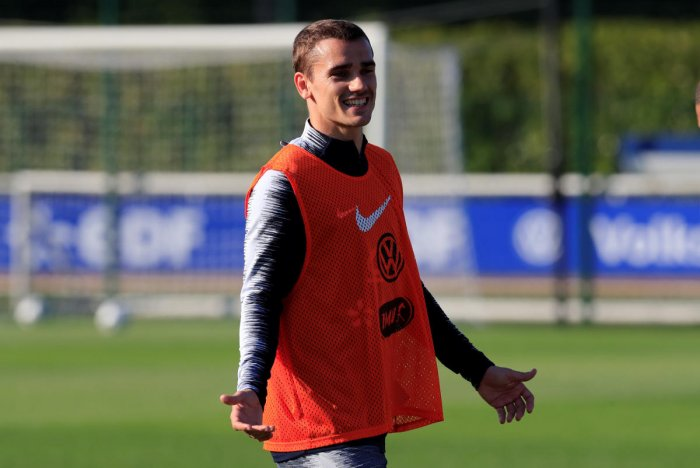 Antoine Griezmann will be one of the vital players for France. Reuters