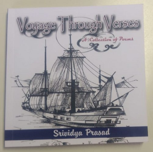 Srividya Prasad has just released her new book, 'Voyage Through Verses'.