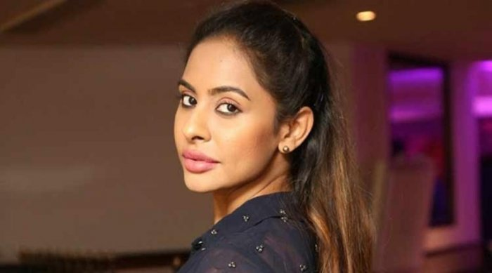 In picture: Telugu actor Sri Reddy.