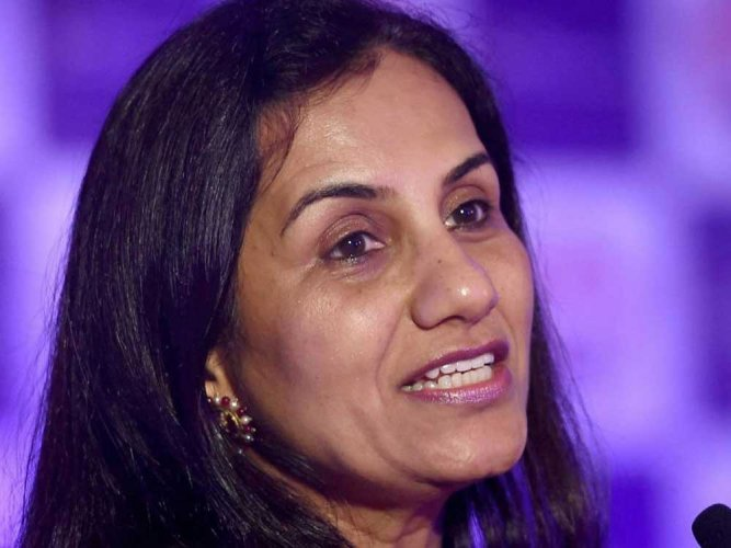 In picture: CEO Chanda Kochhar. PTI photo.