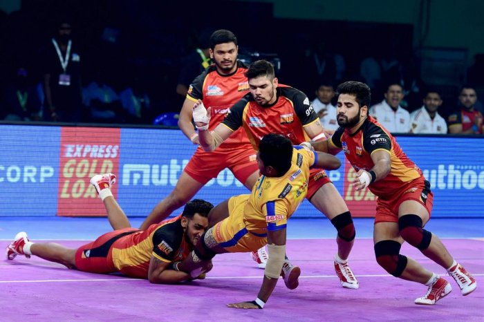 Six players were sold for more than one crore on the first day of the Pro Kabaddi League auction in Mumbai on Wednesday. PTI FILE PHOTO