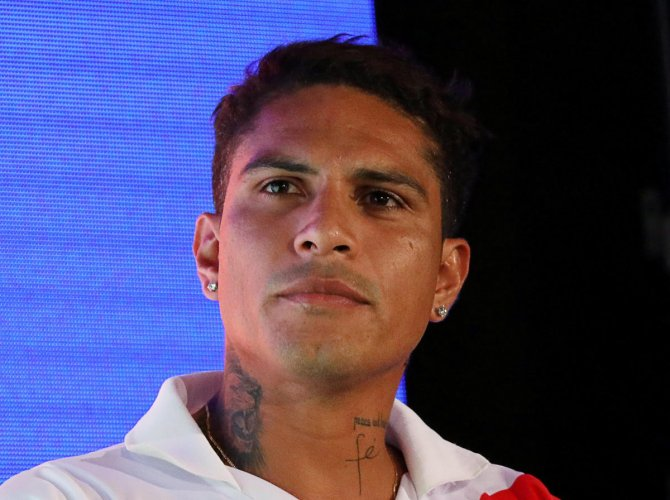 Peru team captain Paolo Guerrero was cleared to play in the World Cup by a Swiss court on Thursday. Reuters File Photo