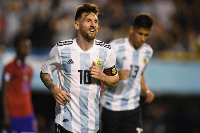 This will be Lionel Messi's fourth World Cup. AFP