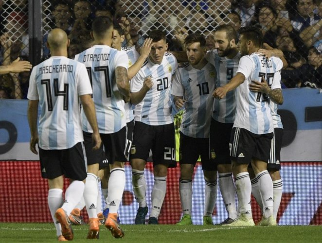 STAR-STUDDED: In recent tournament's Argentina have been faltering at the final hurdle, a record they will look to change this year. AFP