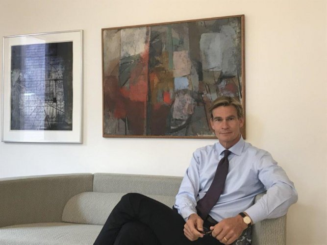 Klas Molin, Swedish Ambassador to India