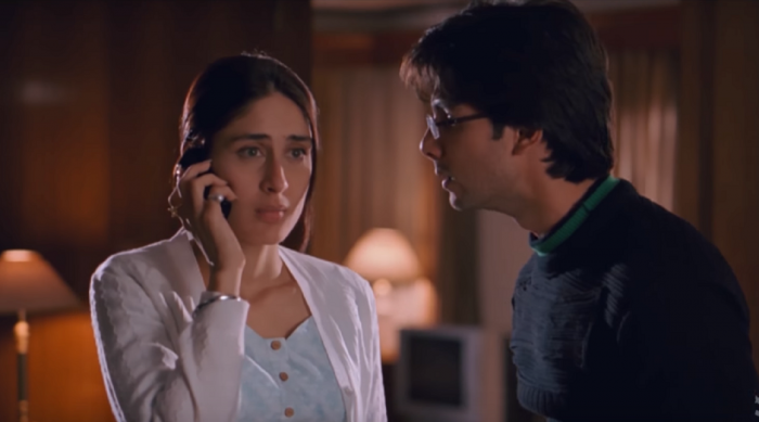"""A still from the film 'Jab We Met."""""""