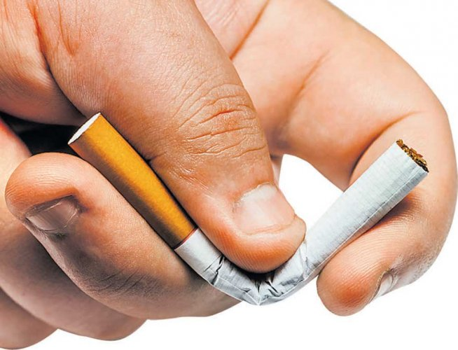 """Tobacco use and exposure to second-hand smoke are """"major causes"""" of cardiovascular disease."""