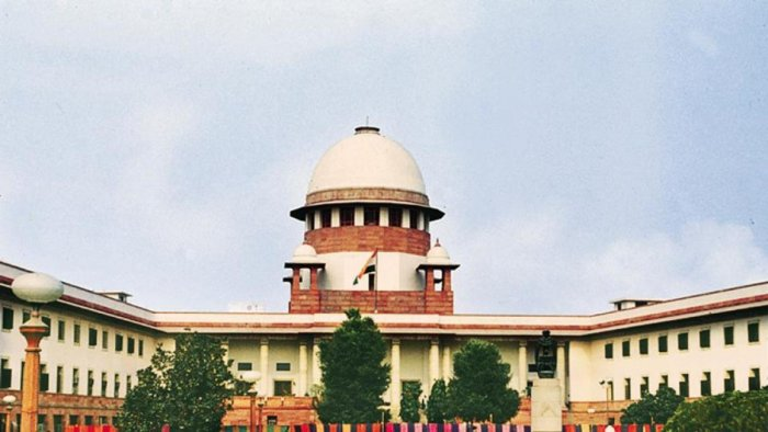 A view of the Supreme Court of India, in New Delhi. (pic for representation only)