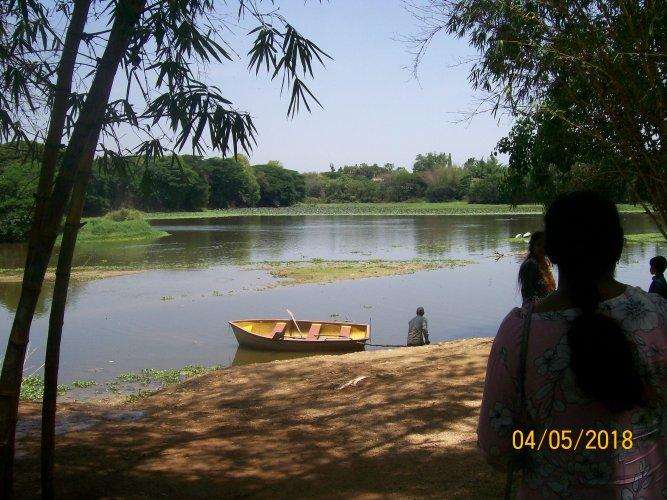 A view of Karanji Lake. Photo by Author