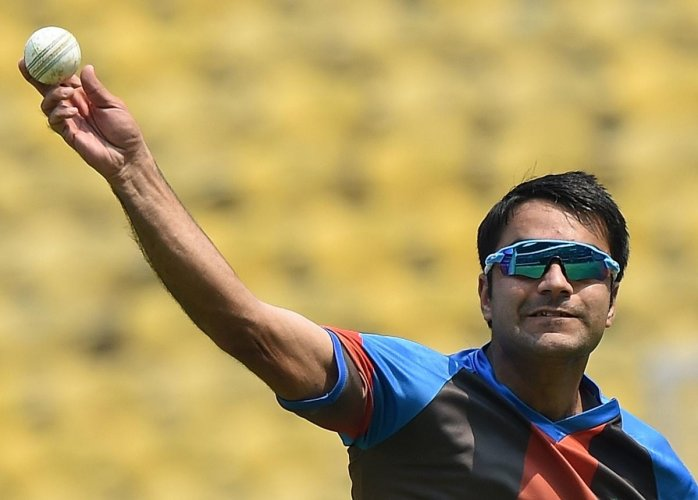 alisman: Afghanistan will pin their hopes on Rashid Khan when they take on Bangladesh in the first T20 game in Dehradun on Sunday. AFP