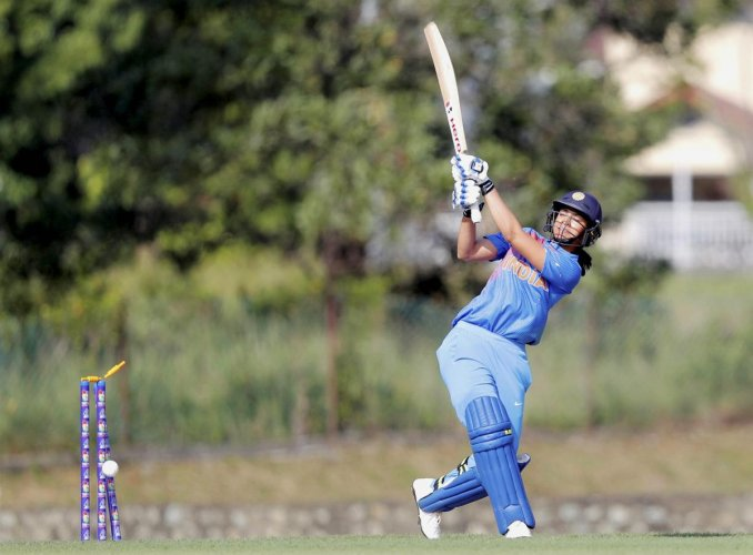 Indian cricketer Smriti Mandhana gets bowled out in a match against Malaysia during Asia Cup 2018, in Kuala Lampur, on Sunday, June 03, 2018. PTI Photo.