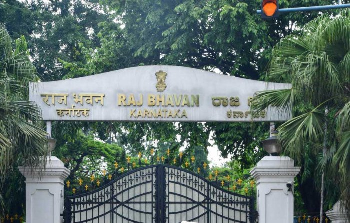 The Governor of Karnataka will get Rs 1.05 crore as allowances for the tour, hospitality, entertainment and other expenses, Rs 6.5 lakh asan allowance for renewal of furnishings and Rs 38.2 lakh as an allowance for the maintenance of the Raj Bhavan. DH file photo