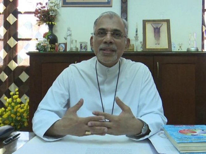 After Archbishop of Goa and Daman Father Filipe Neri Ferrao, image courtesy ANI/Twitter