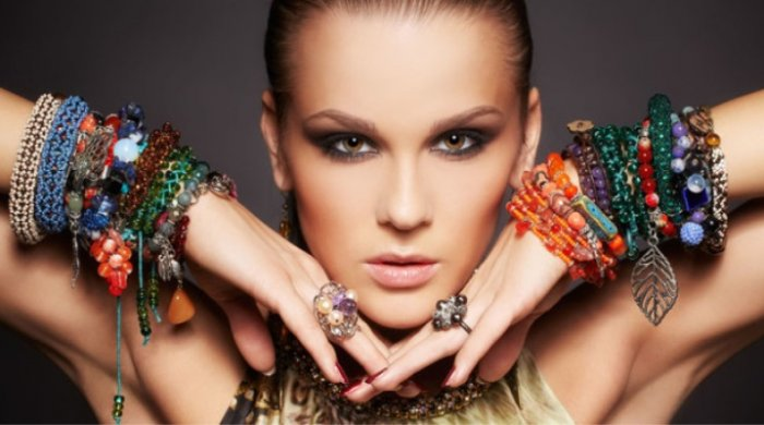 Cuff bracelets are a favourite among fashionistas.