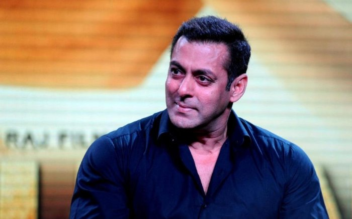 """""""For 'Sanju', I was thinking why is somebody else playing this bit? The last 8-10 years. you cannot do justice to that. Sanju should have played the last bit,"""" Salman said. (PTI file photo)"""