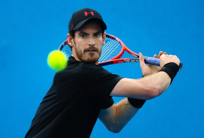Britain's Andy Murray has very less time to be fully fit for the Wimbledon. AFP