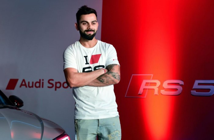Kohli, the only sportsperson from India to be featured in the list, is ranked 83rd with earnings of USD 24 million. (PTI file photo)