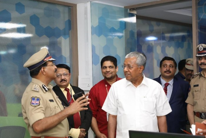 After the video was shared on the social media, the accused posted another video, apologising to CM Pinarayi Vijayan. File Photo