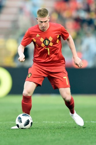 KING OF ASSISTS: Belgium's Kevin De Bruyne, who can tear apart any defence with his pinpoint passing, will be among a host of star players in action in Russia. AFP