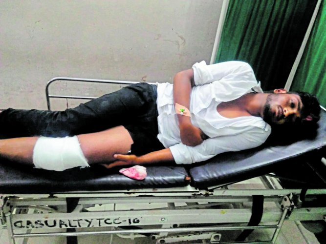 Rowdy Saravana undergoing treatment.