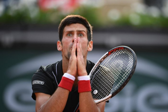 Serbia's Novak Djokovic indifferential form continued as he crashed out of the French Open in the quarterfinal on Tuesday. AFP