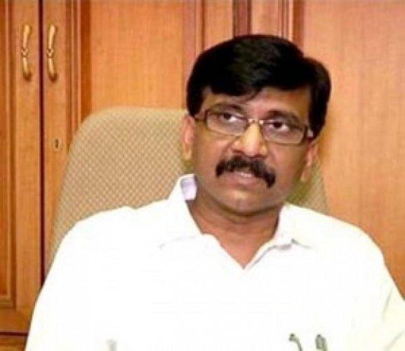 Shiv Sena spokesperson and Rajya Sabha MP Sanjay Raut