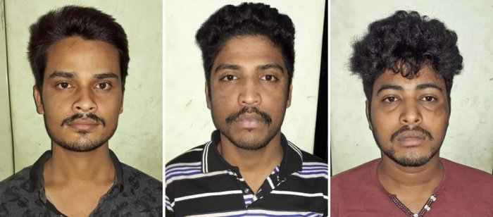 In a major breakthrough, Marathahalli police arrested three accused belong to maintenance staff of CISCO Systems India Private Limited who had stolen lab optics worth Rs 87 lakhs of the company. The arrested are Manas Ranjan Das (24), Janama Jaya Satar (2