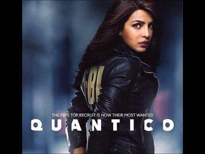Priyanka Chopra in Quantico, image source: Twitter