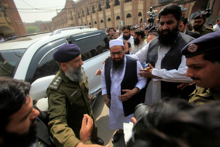 The JuD activists and sympathisers have taken the nomination papers from the ECP and are fielding their candidates on the platform of the AAT. (Reuters file photo)