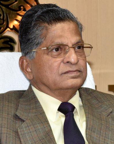 Lokayukta Justice B Vishwanath Shetty