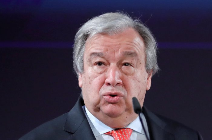 "Guterres thanked India for its ""strong commitment to multilateralism"" and to partnership with the United Nations. (Reuters file photo)"