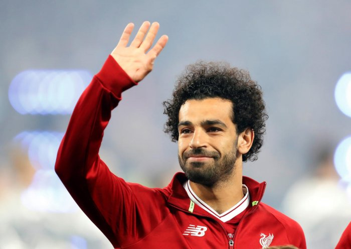 Mohamed Salah is hopeful of playing Egypt's first World Cup game against Uruguay. Reuters