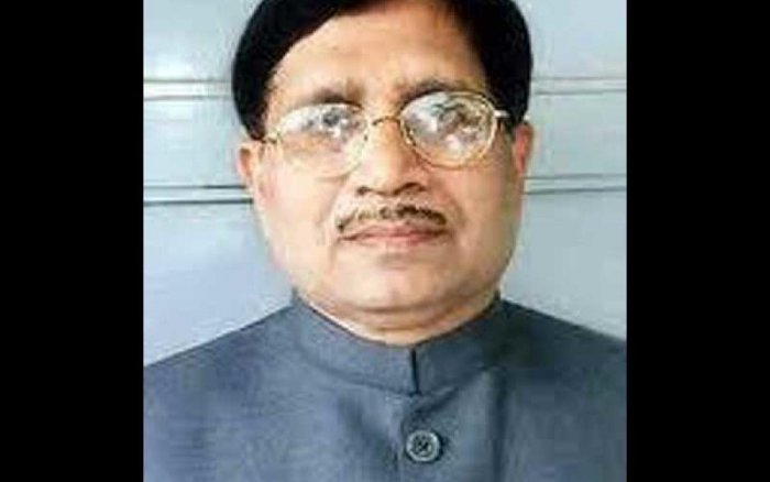 Shantaram Naik was taken to a private hospital in Margao town from his residence after he complained of uneasiness where he was declared brought dead. (Image credit: Twitter)