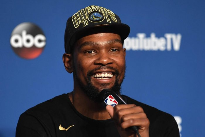 Golden State Warriors Kevin Durant said he is in for the long haul. AFP