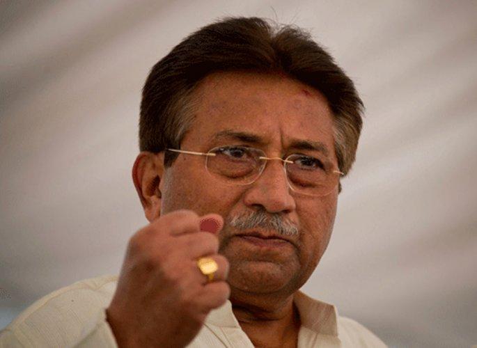 Pervez Musharraf. AP/PTI