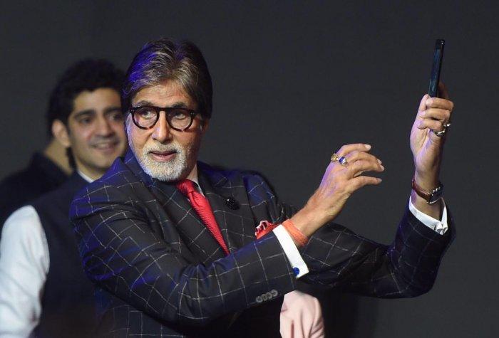 Bollywood actors Amitabh Bachchan. PTI file photo