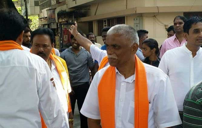 BJP candidate B N Prahlad Babu