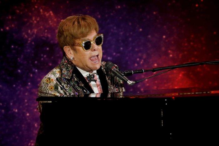 Singer Elton John. Reuters Photo