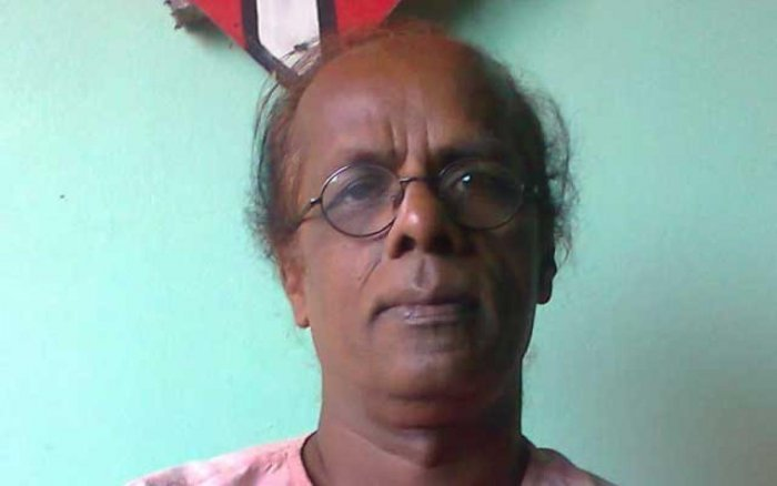 Shahzahan Bachchu, an outspoken proponent of secular principles and owner of a publishing house 'Bishaka Prokashoni' that specialised in publishing poetry, was gunned down in his ancestral village Kakaldi in Munshiganj district. (Image courtesy: Twitter)