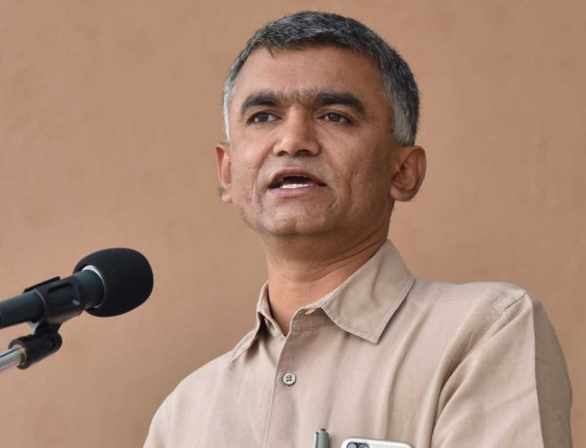 Rural Development and Panchayat Raj (RDPR) Minister Krishna Byre Gowda. DH file photo
