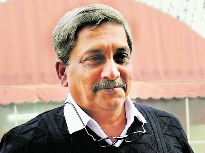 Manohar Parrikar, 62, has been in the US for treatment of a pancreatic ailment since March this year. PTI file photo