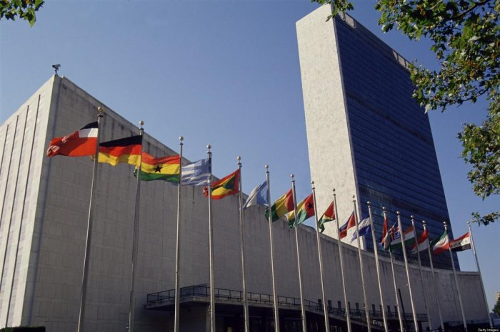 Arab and Islamic nations decided to go to the 193-member assembly, where there are no vetoes, following the US veto of virtually the same resolution in the Security Council on June 1. (File photo)