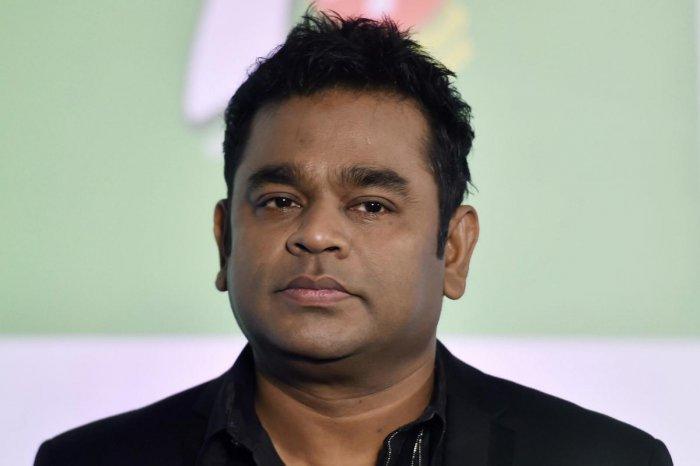 Music maestro A R Rahman. PTI Photo