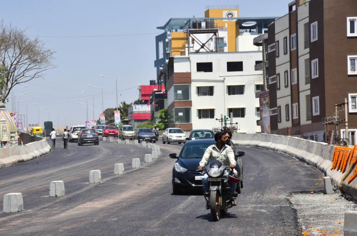 A view of the Hennur flyover. Picture for representation only.