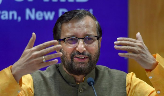 Union HRD Minister Prakash Javadekar. PTI Photo