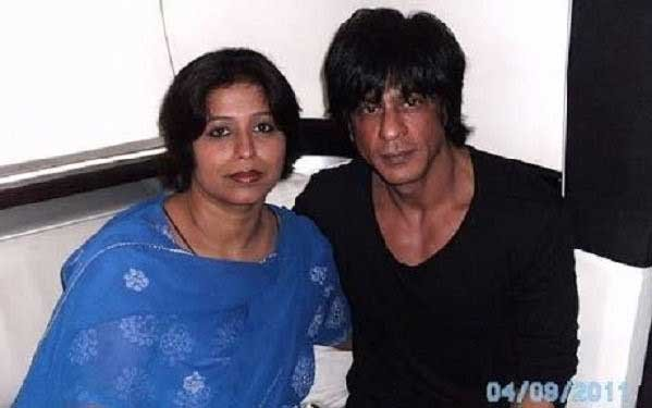 Noor Jehan with Shahrukh Khan. Image source: Twitter