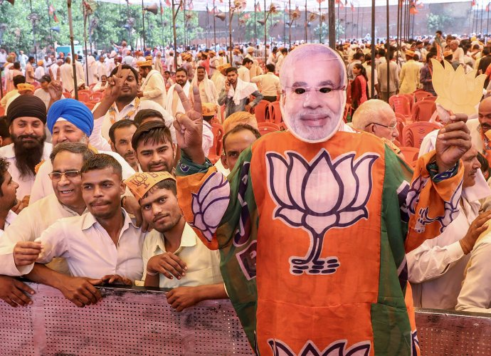 A senior UP BJP leader said that the party had received feedback from its district units on the reasons of its loss in the three Lok Sabha and one Assembly bypolls in the state. PTI file photo