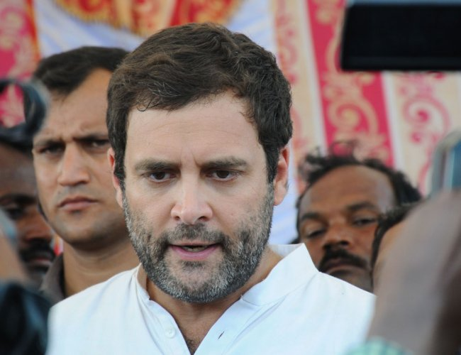 Rahul Gandhi. PTI file photo.