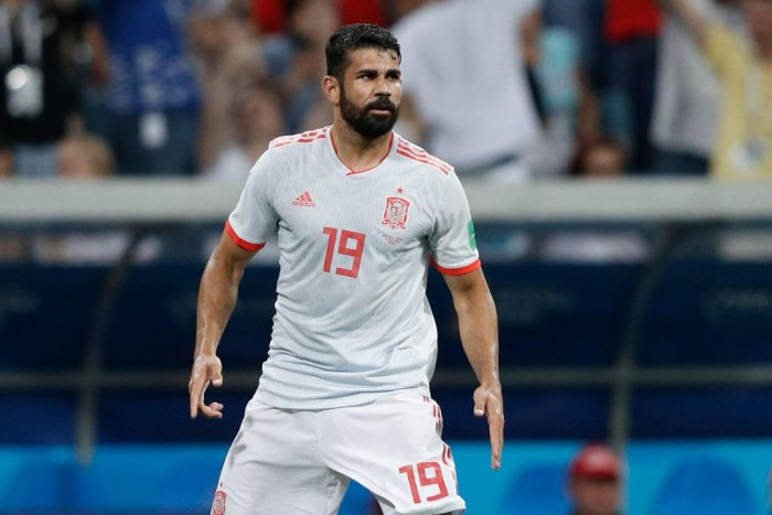 Diego Costa physical presence and penalty-box prowess worked a treat for the Spanish side in their 3-3 draw against Portugal. AFP
